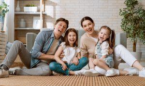 Mum, dad & 2 daughters